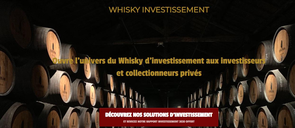 Whisky Investissement