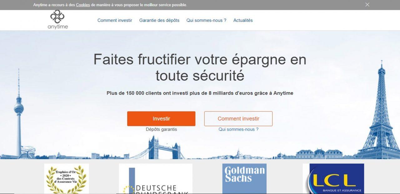 Anytime-private.fr : Un faux site qui fait de l'usurpation d'identité