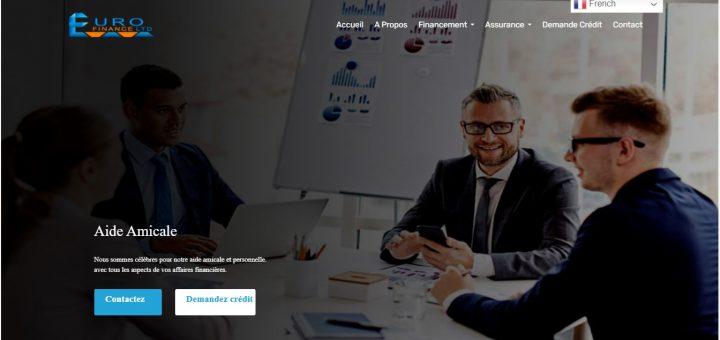 Besoin de prêt en ligne ? Fuyez Eurofinance-ltd.com !